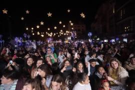 Encendido de las luces de Navidad en Palma