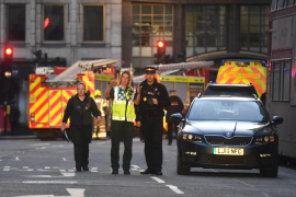Dos muertos y varios heridos en el ataque terrorista en el puente de Londres
