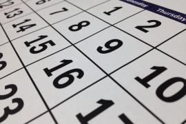¿Es festivo el lunes 9 de diciembre?