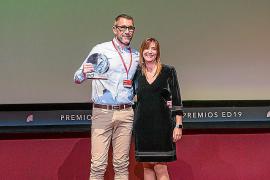 Un enfermero de Son Espases, galardonado en los Premios Enfermería en Desarrollo 2019