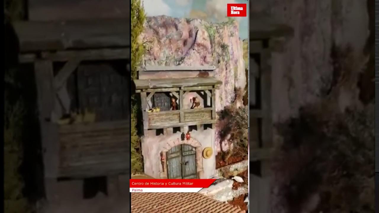 Los artesanos belenistas rematan los detalles en el Centro de Historia y Cultura Militar