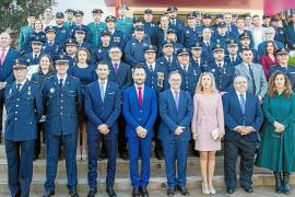 Homenaje a la Policía Local tras un verano complicado