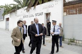 La policía aumentará la vigilancia en el Lluís Sitjar