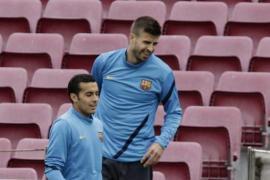 Piqué, Cesc y Cuenca, de salida; Alves en el banquillo