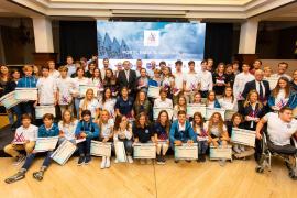 La vela balear homenajea a los mejores de 2019