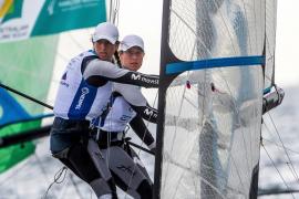Paula Barceló busca plaza olímpica en el Mundial de 49erFX