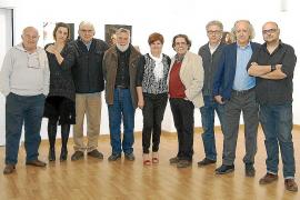 Inauguración de la exposición 'Els color de l'aire' de Curro Viera