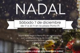 Empieza la Navidad en Porto Pi Centro con sus diversas actividades