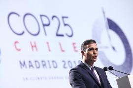 Sánchez dice que «solo un puñado de fanáticos niega la evidencia» del cambio climático