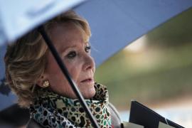 Esperanza Aguirre pide al PP que haga presidente a Sánchez