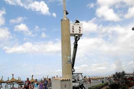 Cort reparará en breve las cámaras de videovigilancia de la Playa de Palma