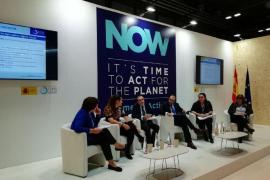 Yllanes explica en la Cumbre del Clima las medidas de Baleares a favor de la transición energética