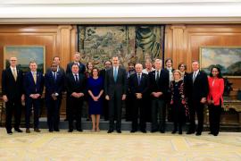 El Rey recibe en audiencias en Zarzuela a Pelosi, Guterres y varios jefes de Estado asistentes a la Cumbre