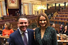 Los diputados del PP en el Congreso por Baleares, Margalida Prohens y Miguel Jerez