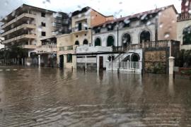 Inundación en Sóller