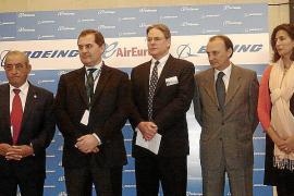 PRESENTACION DEL NUEVO AVION DE AIR EUROPA