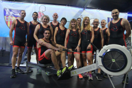 El Indoor Rowing Islas Baleares prepara el Mundial de París