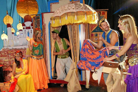 Imagen del musical Aladin