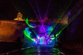 Espectáculo de luz y música para la fiesta del Patrimonio de la Humanidad