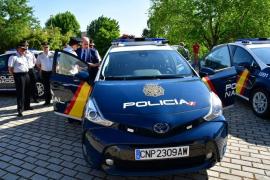 La Policía Nacional despliega sus nuevos vehículos inteligentes y sostenibles