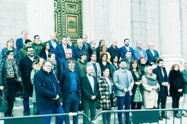 El senador Vidal (Més) y los diputados independentistas piden a PSOE y Unidas Podemos abordar el derecho de autodeterminación