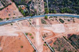Denuncian el vertido de escorias contaminantes en la autovía Llucmajor-Campos