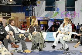 Maria Solivellas en la cumbre del clima