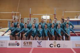 El Xelska apunta alto en la Liga Iberdrola de gimnasia artística