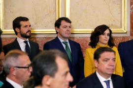 Casado no apoyará a Sánchez porque ha elegido a «enemigos de la Constitución»