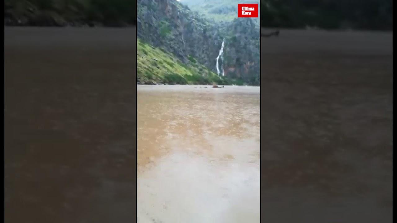 Las espectaculares imágenes de la desembocadura del Torrent de Pareis tras las lluvias