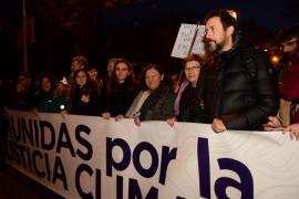 Podemos Baleares pide en la marcha ayudas para regenerar agua en Baleares