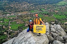 'Llums per la llibertat' critica desde las montañas al Estado «corrupto y represor»