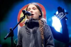 Greta Thunberg a los políticos: «El cambio viene os guste o no»