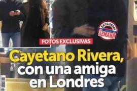 Desvelada la identidad de la amiga de Cayetano Rivera