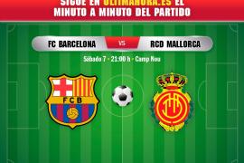 Así ha sido el Barcelona-Real Mallorca