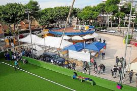 Vecinos de Playa d'en Bossa celebran su primer Concurso de Frita de Matances