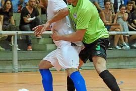 Una imagen de un partido entre el Gasifred y el San Pablo