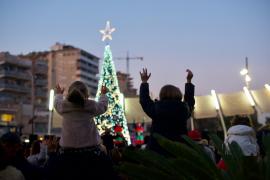 Porto Pi Centro 'enceta' la Navidad con Papá Noel