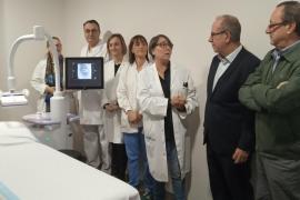 Son Llàtzer incorpora dos nuevos ecógrafos y un mamógrafo 3D pagados por Amancio Ortega