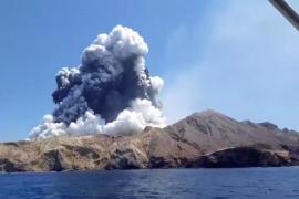 Sin supervivientes tras la erupción volcánica en la isla de Nueva Zelanda