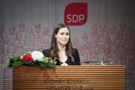 Sanna Marin, nueva primera ministra de Finlandia, es la presidenta más joven del mundo