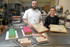 Pasteleros de Mallorca elaboran novedosos turrones para estas fechas