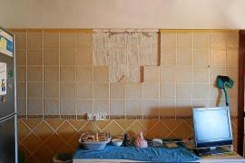 Desperfectos en una casa de Santa Eulària