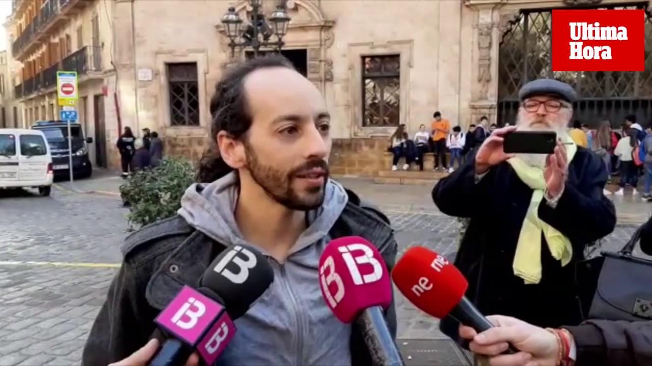 Los activistas denunciarán las agresiones que afirman haber sufrido en el desahucio de la familia de Oscar