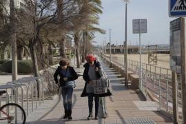 Una borrasca atlántica llega a Mallorca y dejará fuertes rachas de viento