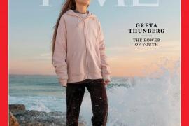 Greta Thunberg es la 'persona del año' para la revista Time