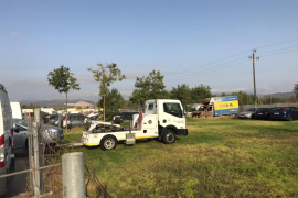 La Policía Local podrá llevar coches a una zona de Son Toells durante dos meses