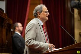 El Parlament catalán pide la libertad de los CDR detenidos en septiembre