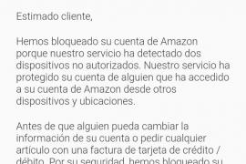 El nuevo intento de estafa que afecta a Amazon