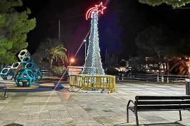 Denuncian la falta de luces navideñas en Porto Cristo, son Macià y s'Illot